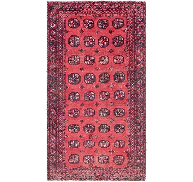 3' 10 x 7' 2 Shiraz Persian Runner Rug