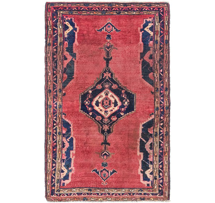 HandKnotted 4' 7 x 7' 5 Shiraz Persian Rug