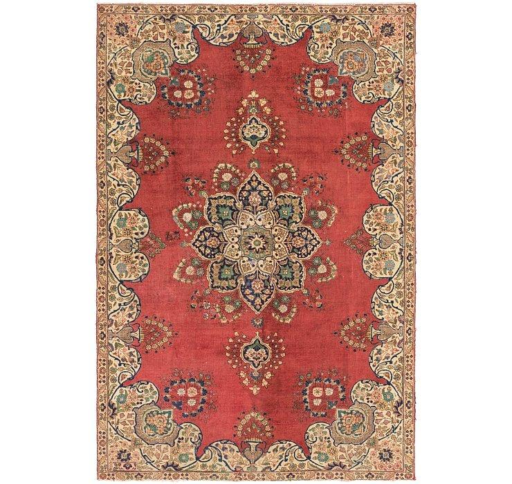 7' x 10' 8 Tabriz Persian Rug