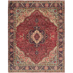 Link to 9' 5 x 12' 7 Tabriz Persian Rug item page