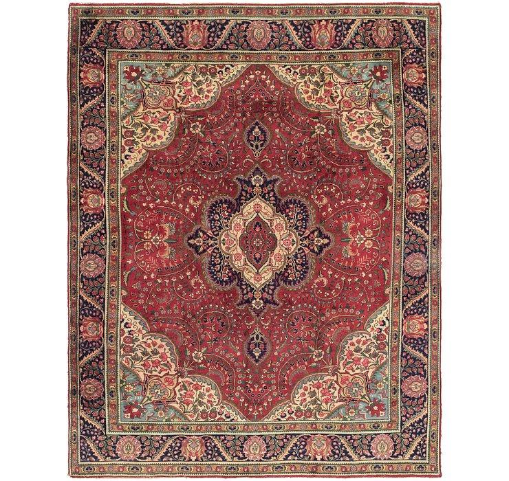 287cm x 385cm Tabriz Persian Rug
