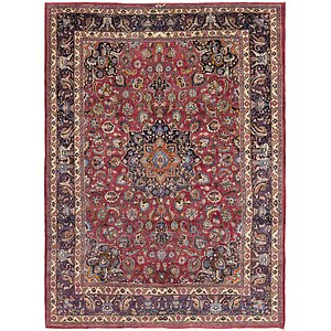 Link to 9' 7 x 13' 4 Mashad Persian Rug item page