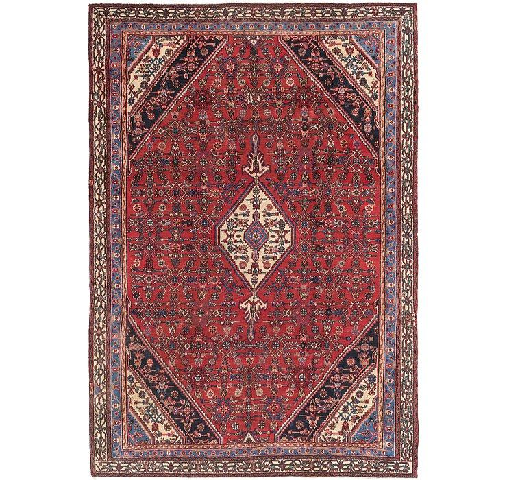 9' 3 x 13' 6 Hamedan Persian Rug