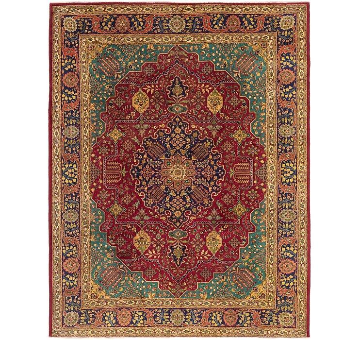 9' 7 x 12' 5 Tabriz Persian Rug