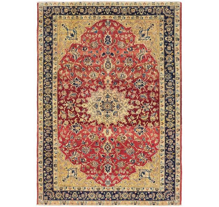 8' x 11' Isfahan Persian Rug