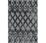 Link to Unique Loom 5' x 7' 2 Trellis Shag Rug