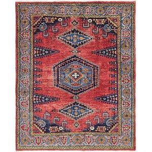 6' 5 x 7' 9 Viss Persian Rug