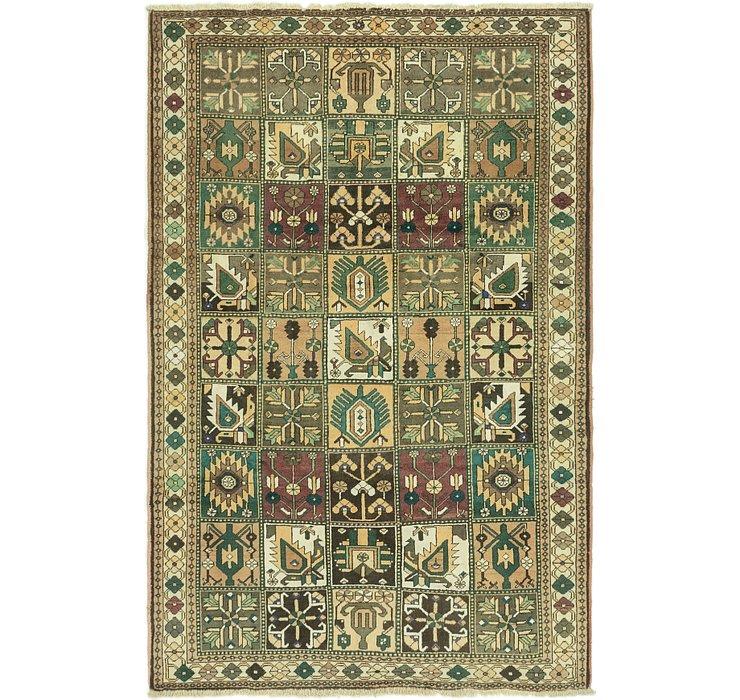 6' 8 x 10' 2 Bakhtiar Persian Rug