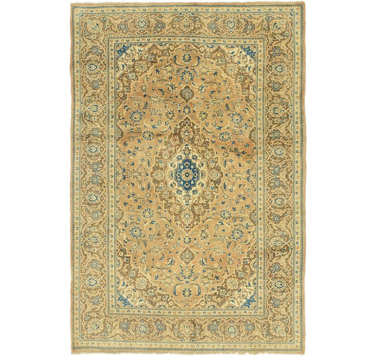 6' 8 x 9' 10 Mashad Persian Rug