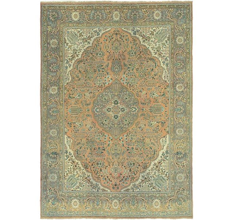 8' 2 x 11' 6 Tabriz Persian Rug