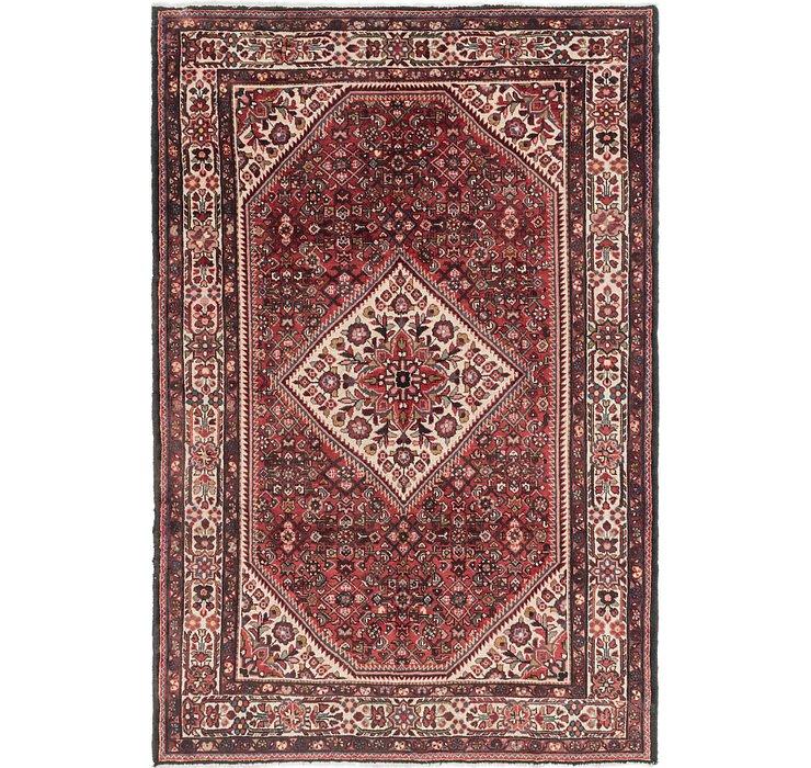7' 3 x 10' 9 Hossainabad Persian Rug