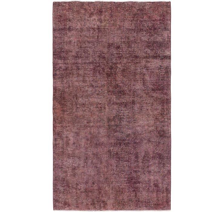 4' 4 x 7' 10 Ultra Vintage Persian Rug