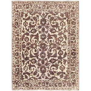 4' 6 x 6' 2 Ultra Vintage Persian Rug
