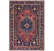 Link to 4' 6 x 6' 6 Shiraz Persian Rug