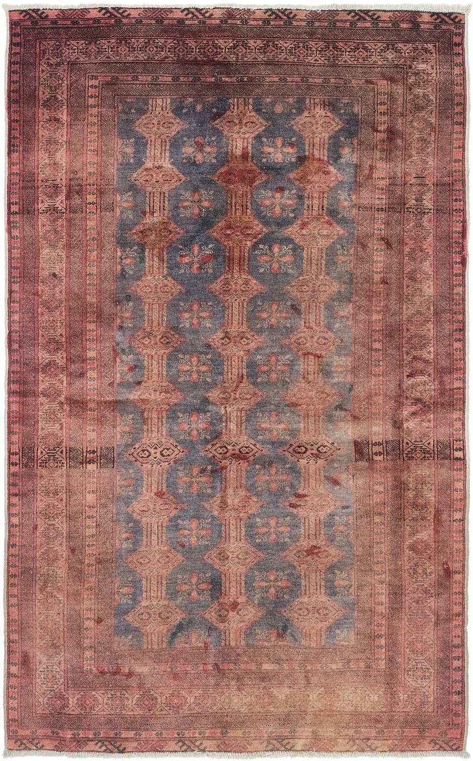 Main Unique Loom 3 10 X 6 2 Bokhara Oriental Rug Photo