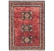 Link to 3' 4 x 4' 6 Hamedan Persian Rug