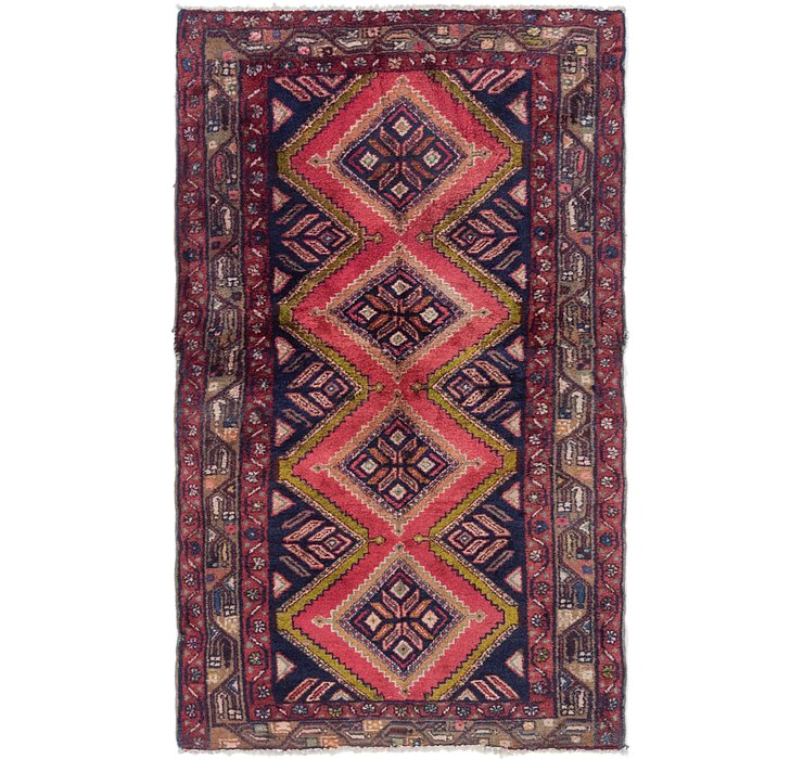 3' 9 x 6' Chenar Persian Rug