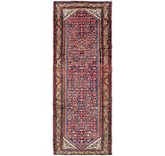 Link to 3' 8 x 10' Hossainabad Persian Runner Rug