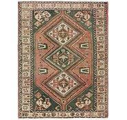 Link to 5' x 6' 5 Hamedan Persian Square Rug