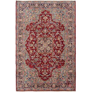 Link to 147cm x 225cm Kerman Persian Rug item page