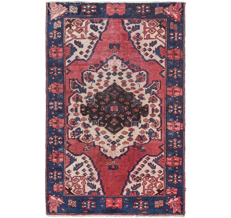 4' 2 x 6' 5 Ferdos Persian Rug