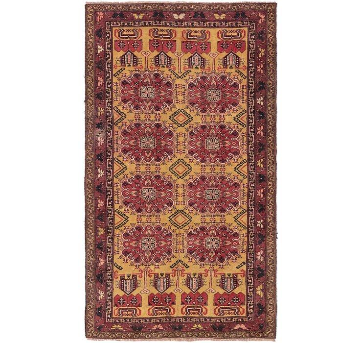 4' 5 x 7' 8 Shiraz Persian Rug