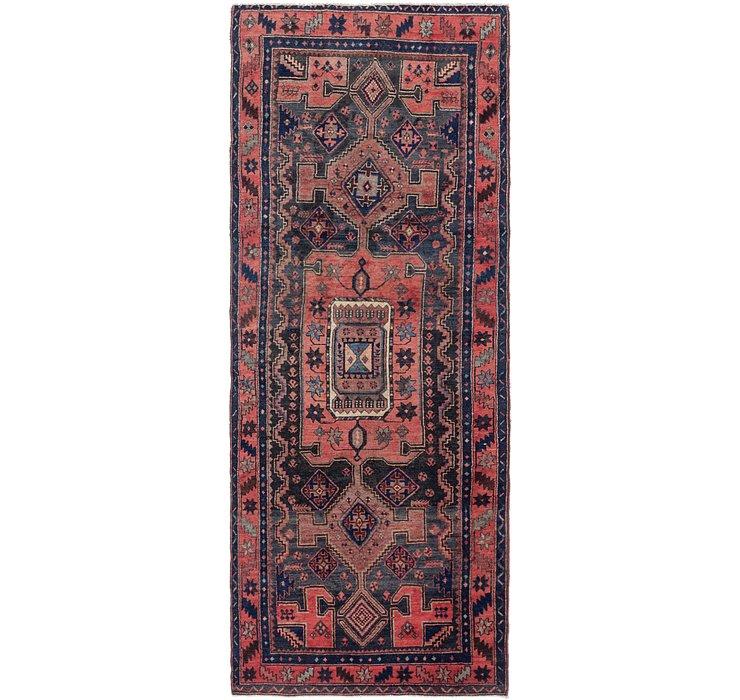 4' 4 x 11' 4 Zanjan Persian Runner Rug