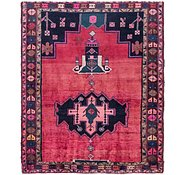 Link to 5' 10 x 7' Shiraz Persian Square Rug