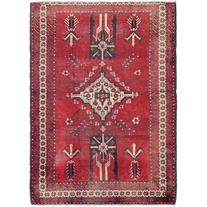 Link to 4' 7 x 6' 6 Ferdos Persian Rug item page