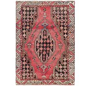 Link to 3' 10 x 6' Mazlaghan Persian Rug