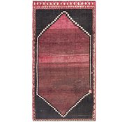 Link to 4' 9 x 9' 5 Shiraz Persian Runner Rug