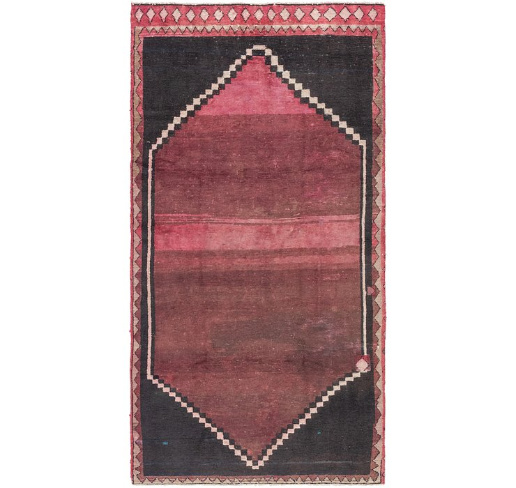 4' 9 x 9' 5 Shiraz Persian Runner Rug