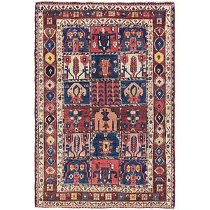 Unique Loom 5' x 7' 8 Bakhtiar Persian Rug