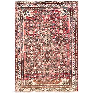 Link to 3' 3 x 4' 7 Hossainabad Persian Rug item page