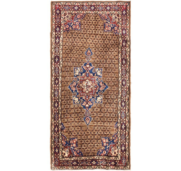 3' 5 x 7' 3 Songhor Persian Runner ...