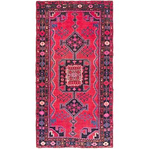 Link to 3' 9 x 7' 3 Zanjan Persian Runner Rug item page
