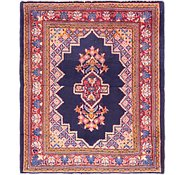 Link to 3' 8 x 4' 4 Farahan Persian Square Rug