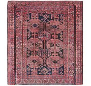 Link to 5' x 5' 6 Shiraz Persian Square Rug