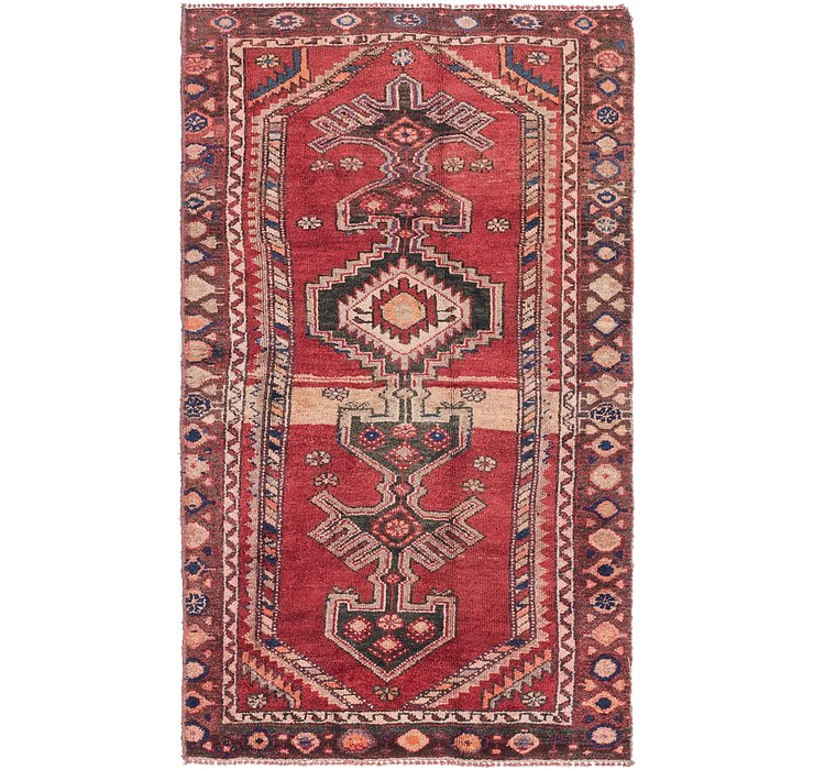 4' x 6' 7 Shiraz Persian Rug
