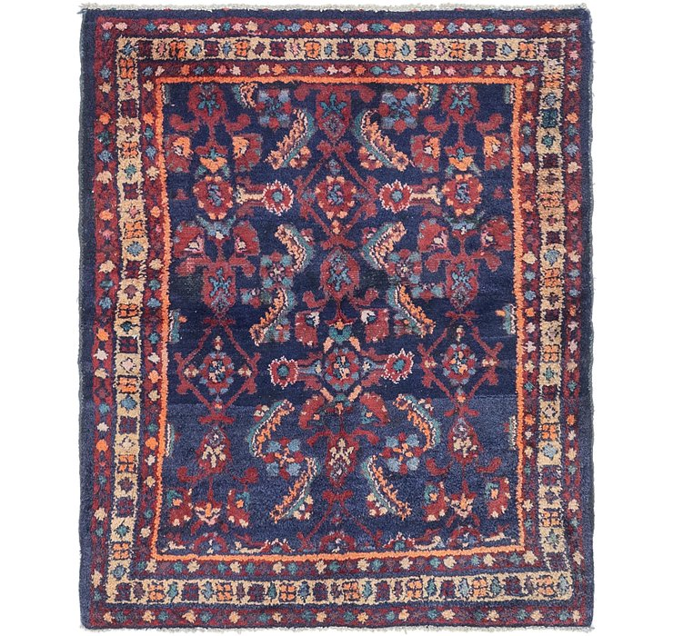 HandKnotted 3' 9 x 4' 8 Malayer Persian Rug