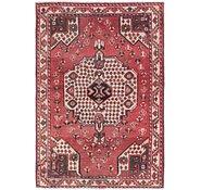 Link to 4' 3 x 6' 3 Shiraz Persian Rug