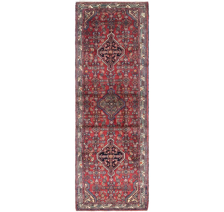 3' 4 x 10' 2 Darjazin Persian Runner...