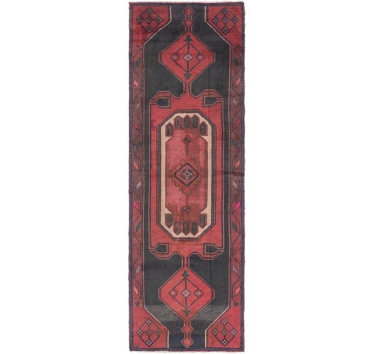 3' 3 x 10' 6 Zanjan Persian Runner Rug