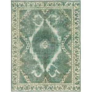 HandKnotted 10' x 13' 2 Ultra Vintage Persian Rug