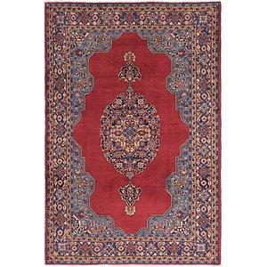7' 4 x 11' Golpayegan Persian Rug