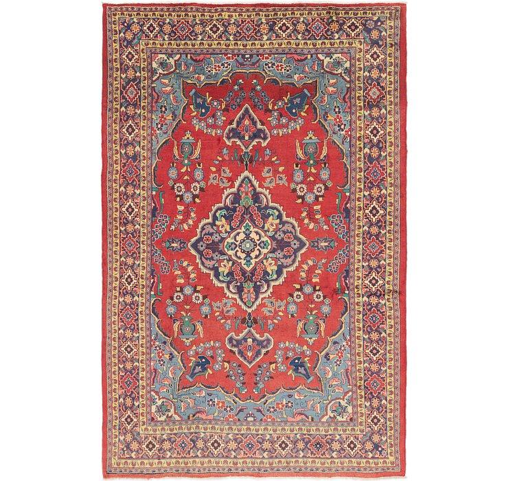 6' 10 x 11' Golpayegan Persian Rug