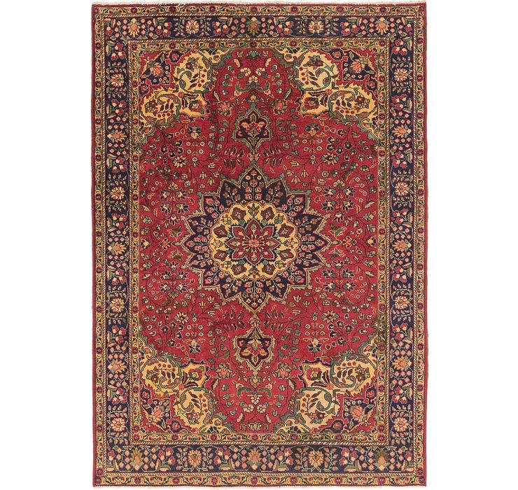 205cm x 295cm Tabriz Persian Rug