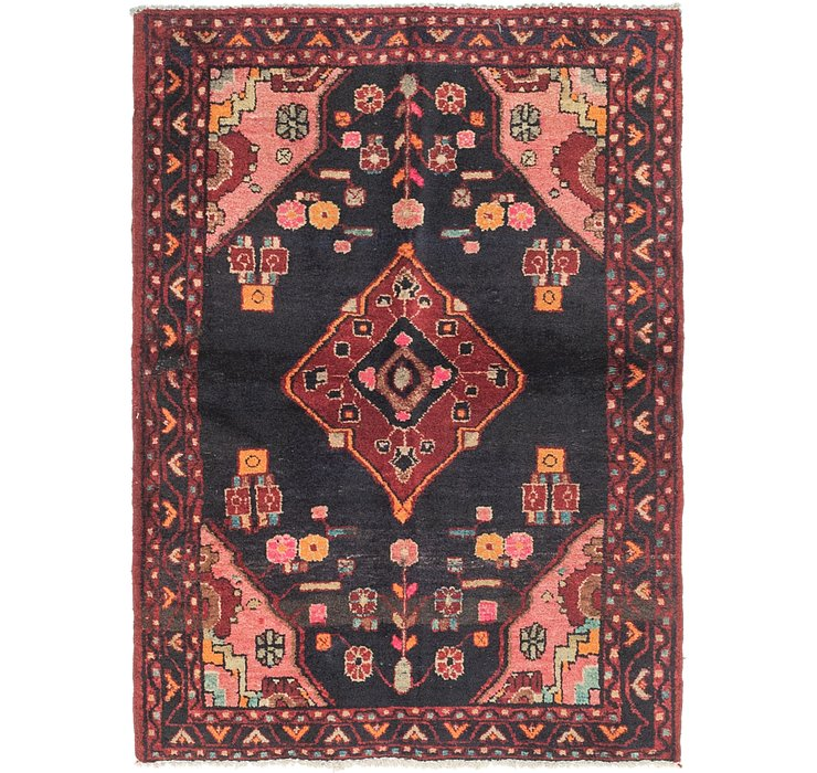 3' 7 x 5' Zanjan Persian Rug