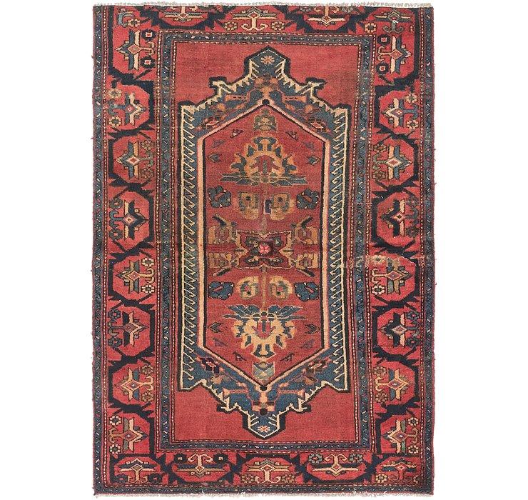 4' 3 x 6' 2 Zanjan Persian Rug