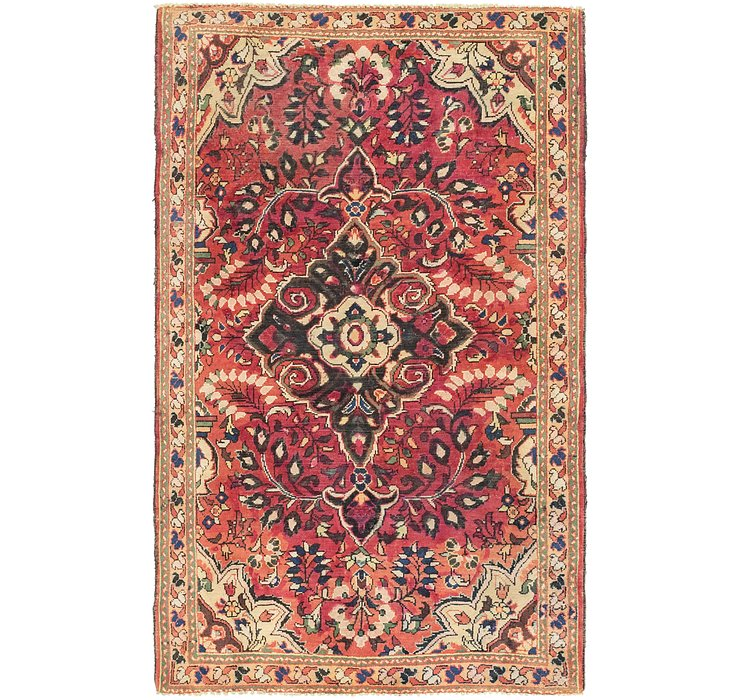 4' x 6' 8 Borchelu Persian Rug